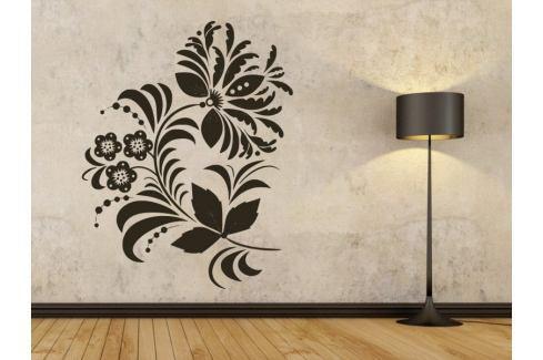 Samolepka na zeď Ornamenty z rostlin 039 Ornamenty z rostlin