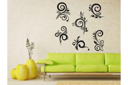 Samolepka na zeď Ornamenty z rostlin 042 Ornamenty z rostlin