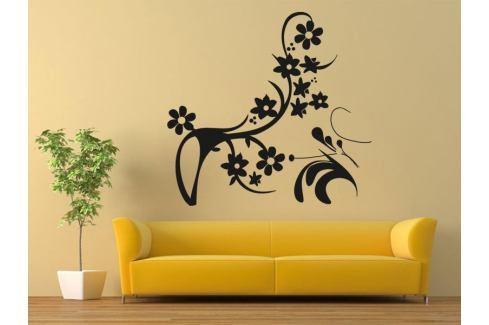 Samolepka na zeď Ornamenty z rostlin 043 Ornamenty z rostlin