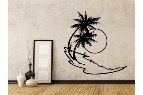 Samolepka na zeď Palmy 007 Palmy
