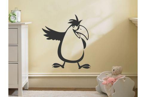 Samolepka na zeď Papoušek 001 Ptáčci