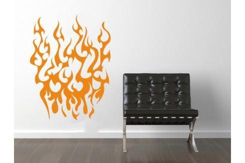 Samolepka na zeď Plameny 020 Plamen