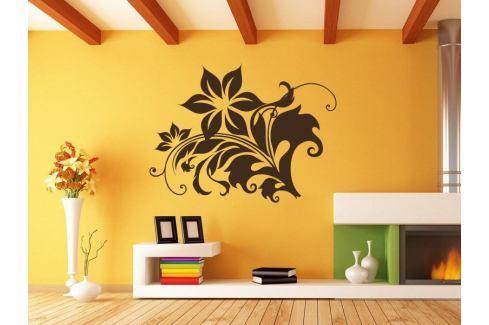 Samolepka na zeď Rostlina 008 Ornamenty z rostlin
