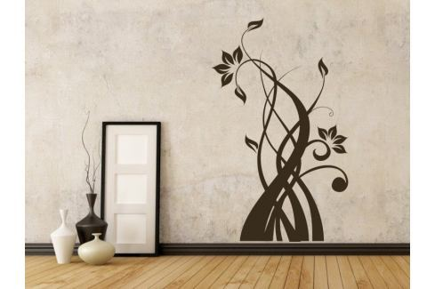 Samolepka na zeď Rostlina 011 Ornamenty z rostlin
