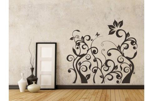 Samolepka na zeď Rostlina 013 Ornamenty z rostlin
