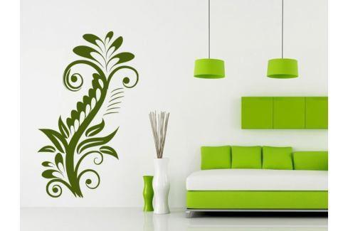 Samolepka na zeď Rostlina 015 Ornamenty z rostlin