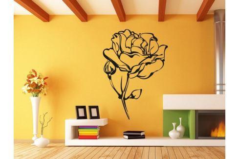 Samolepka na zeď Růže 013 Růže