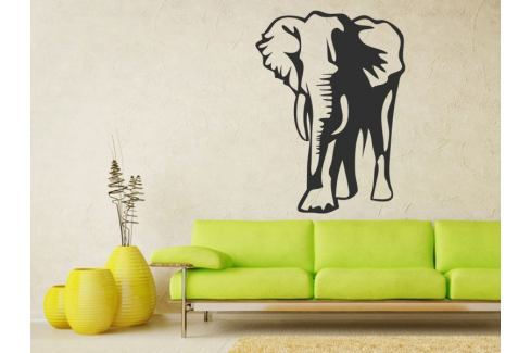 Samolepka na zeď Slon 001 Slon