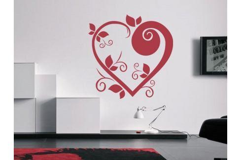 Samolepka na zeď Srdce 003 Srdce