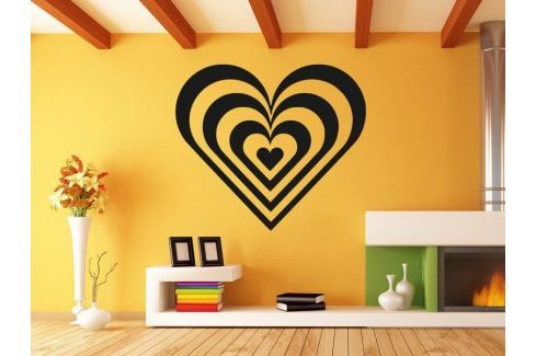 Samolepka na zeď Srdce 008 Srdce