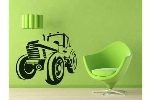 Samolepka na zeď Traktor 001 Traktor