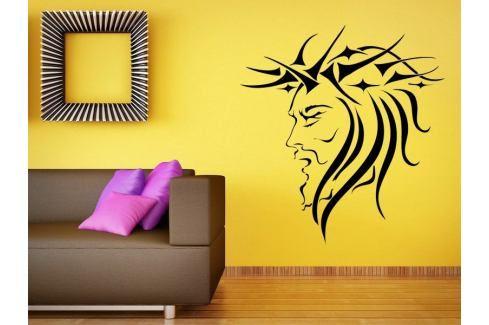 Samolepka na zeď Tvář 001 Ježíš