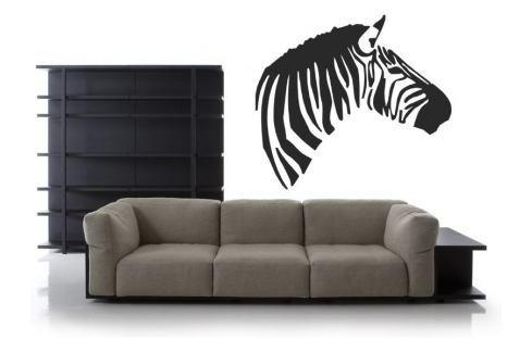 Samolepka na zeď Zebra 005 Zebra