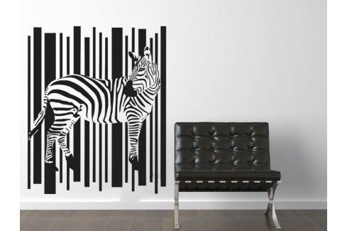 Samolepka na zeď Zebra 006 Zebra