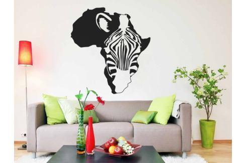 Samolepka na zeď Zebra 008 Zebra