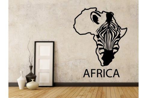 Samolepka na zeď Zebra 009 Zebra