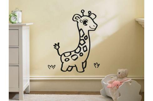 Samolepka na zeď Žirafa 001 Žirafka