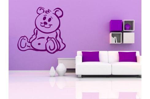Samolepka na zeď Méďa 001 Medvídek