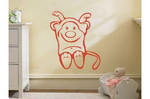 Samolepka na zeď Opička 003 Opička