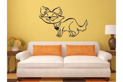 Samolepka na zeď Kočička 006 Kočička