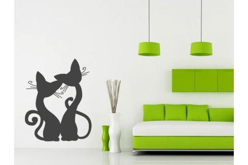 Samolepka na zeď Kočička 008 Kočička
