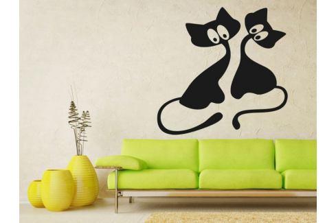Samolepka na zeď Kočička 009 Kočička