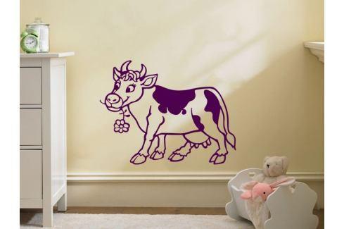 Samolepka na zeď Kráva 005 Kravička