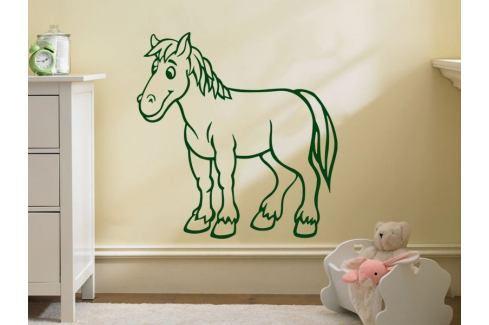 Samolepka na zeď Kůň 018 Koník