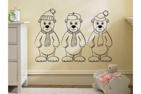 Samolepka na zeď Méďa 006 Medvídek