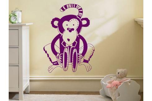 Samolepka na zeď Opička 004 Opička