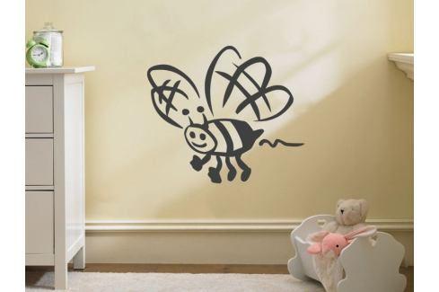 Samolepka na zeď Včela 002 Zvířátka