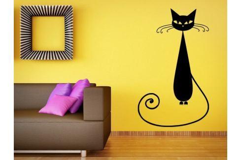 Samolepka na zeď Kočka 005 Kočka