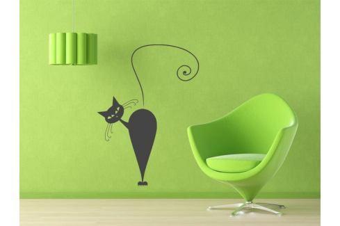 Samolepka na zeď Kočka 006 Kočka