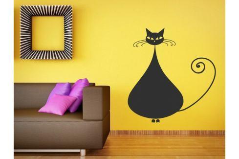 Samolepka na zeď Kočka 008 Kočka