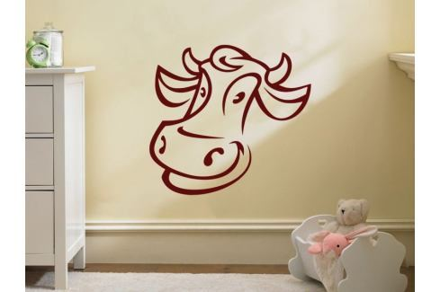 Samolepka na zeď Kráva 006 Kravička