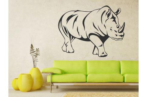 Samolepka na zeď Nosorožec 001 Nosorožec