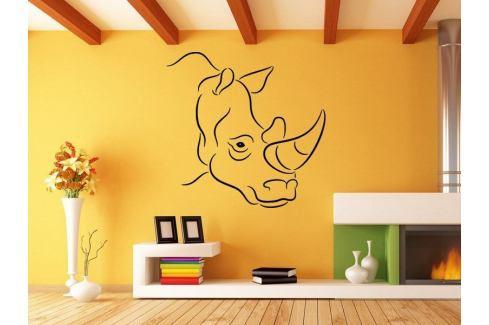 Samolepka na zeď Nosorožec 002 Nosorožec