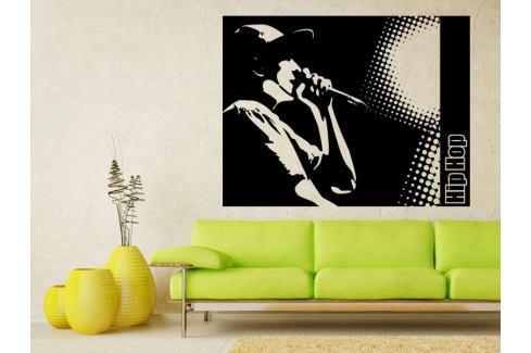 Samolepka na zeď Hip Hop 001 Hudební styly