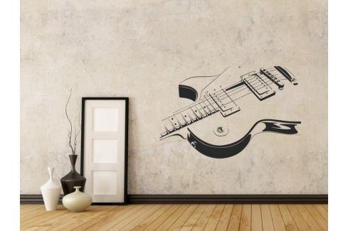 Samolepka na zeď Kytara 005 Kytara