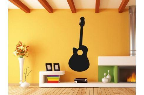 Samolepka na zeď Kytara 010 Kytara