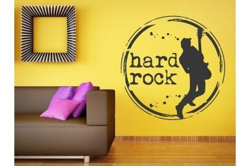 Samolepka na zeď Kytarista 004 Hudební styly