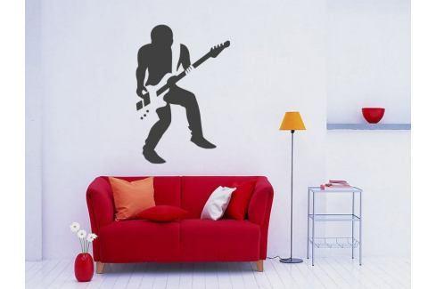 Samolepka na zeď Kytarista 005 Kytarista