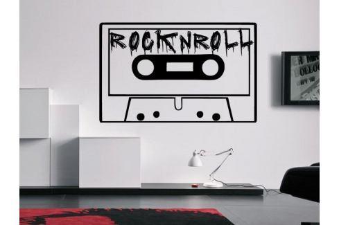 Samolepka na zeď Rock And Roll 002 Hudební styly