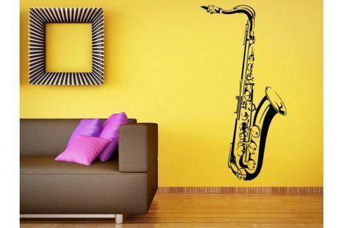 Samolepka na zeď Saxofon 001 Saxofon