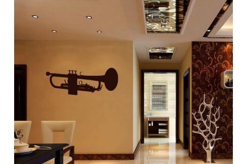 Samolepka na zeď Trumpeta 001 Trumpeta