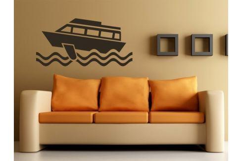 Samolepka na zeď Loď 006 Člun