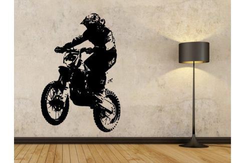 Samolepka na zeď Motorka 004 Motorka
