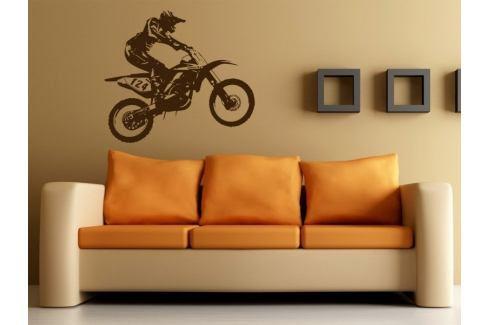 Samolepka na zeď Motorka 005 Motorka