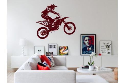 Samolepka na zeď Motorka 008 Motorka