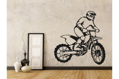 Samolepka na zeď Motorka 010 Motorka